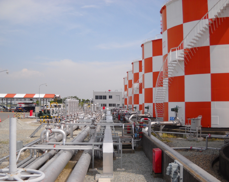 Osaka International AirportFuel Supply Facilities Improvement
